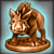 Редкий бронзовый идол Хрока [35]