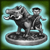 Редкий серебряный идол Звергуна [35]