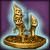 Редкий золотой идол Циклопариков [25]