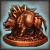 Редкий бронзовый идол Кабана [25]