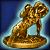 Редкий золотой идол Рыкара [35]